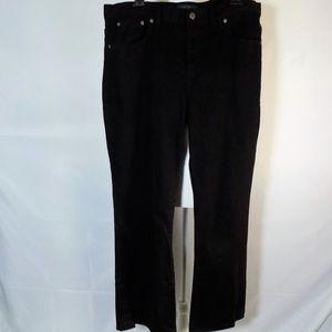 Lauren Ralph Lauren Classic Bootcut Black Jeans 16
